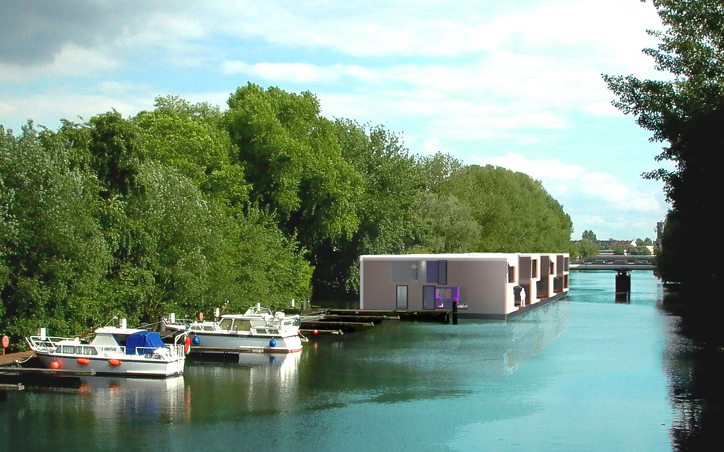 161 floating homes hamburg